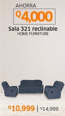 Sala 321 reclinable Castel