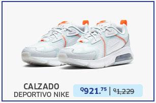 Calzado deportivo atlético nike air max 200