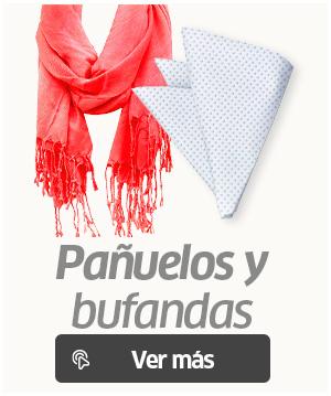 Bonita bufanda a la par un pañuelo