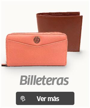 Bonitas billeteras de hombre y mujer diferentes colores